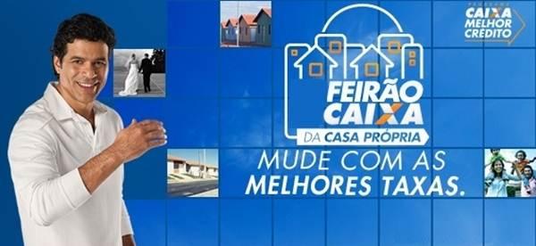 Feirão Caixa e Habitação Popular 2015 - 2016 (Foto: Divulgação)