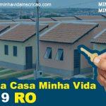 Minha Casa Minha Vida 2019 RO